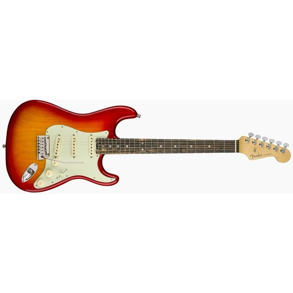 Fender American Elite Telecaster, Ebony Fingerboard, Aged Cherry Burst
