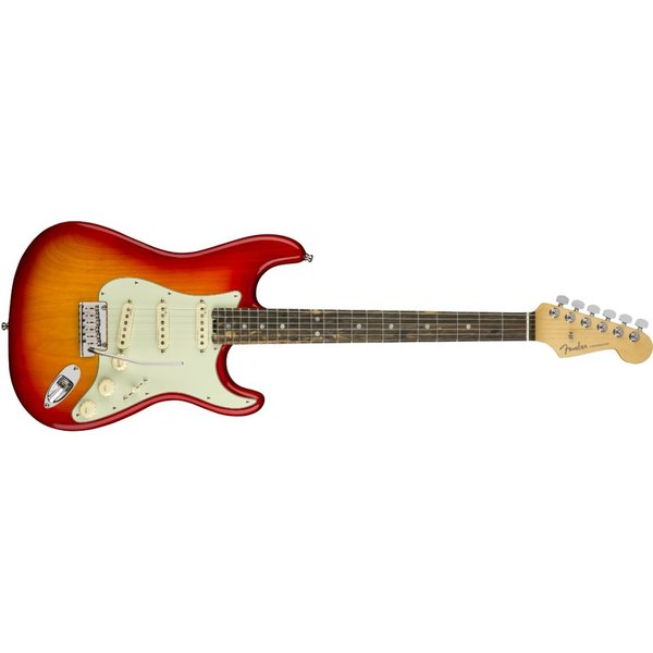 Fender American Elite Stratocaster, Ebony Fingerboard, Aged Cherry Burst (Ash)