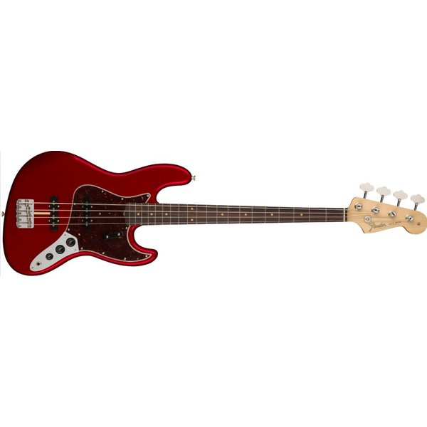 Fender American Original '60s Jazz Bass, Rosewood Fingerboard, Candy Apple Red