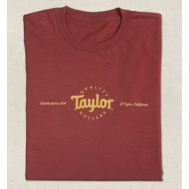 Taylor Taylor Men's Classic T, Red - XL Short Sleeve T