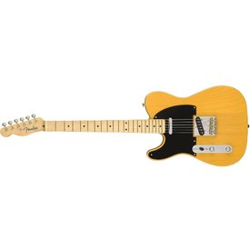 Fender American Original '50s Telecaster Left-Hand, Maple Fingerboard, Butterscotch Blonde