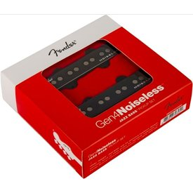 Fender Gen 4 Noiseless Jazz Bass Pickups, Set of 2