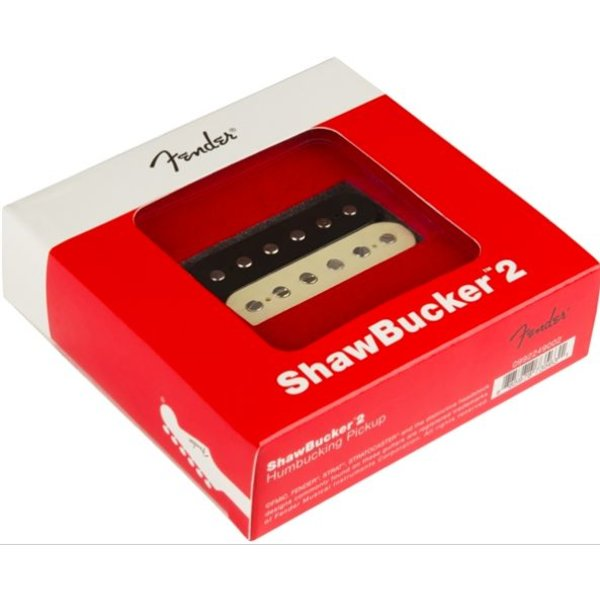 Fender ShawBucker 2 Pickup, Zebra