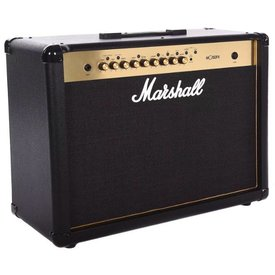 Marshall Marshall MG Gld 100 W 2x12 combo w/ 4 programmable ch, FX, MP3 input - 2-way footswitch included