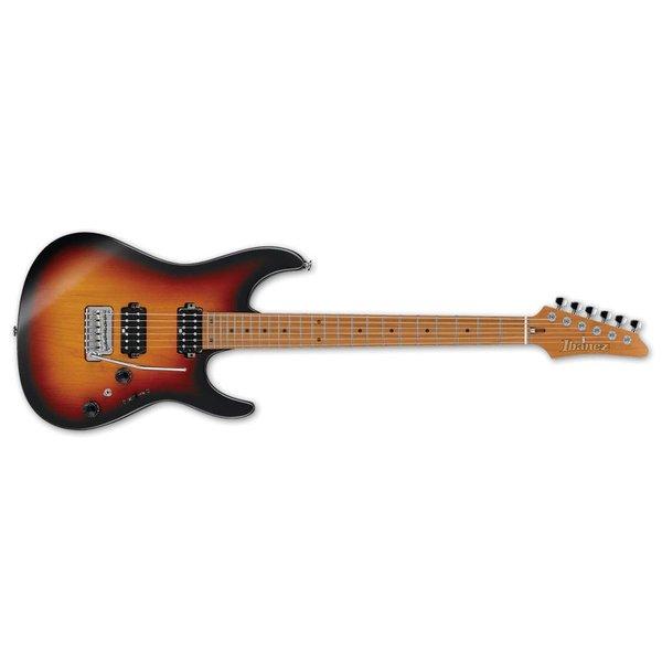 Ibanez Ibanez AZ Prestige 6str Electric Guitar w/Case  - Tri Fade Burst Flat