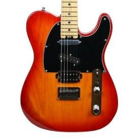 Fender Fender Limited Edition American Elite Nashville Telecaster Maple Aged Cherry Burst
