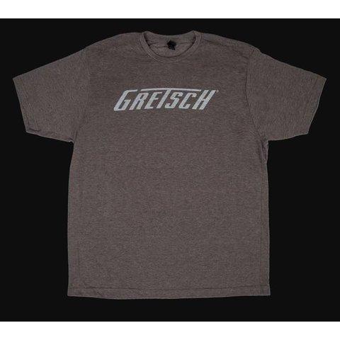 Gretsch Logo T-Shirt, Heather Gray, XL