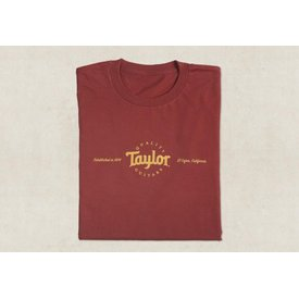 Taylor Taylor Men's Classic T, Red - M Short Sleeve T