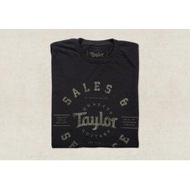 Taylor Taylor Men's Shop T, Black - XXL Short Sleeve T