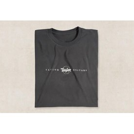 Taylor Taylor Roadie T Charcoal - XL Short Sleeve T
