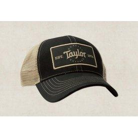 Taylor Taylor Trucker Cap - Black, Khaki - Taylor Patch