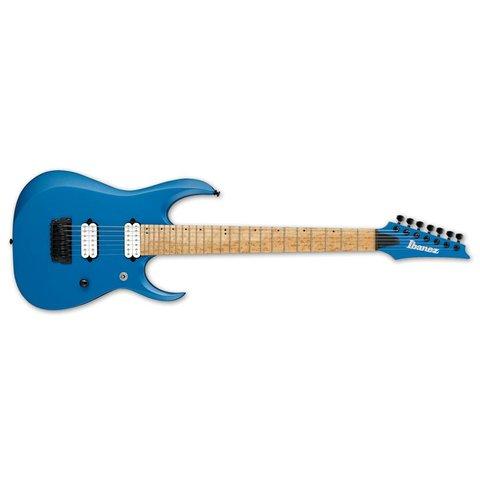 Ibanez RGD Iron Label 7str Electric Guitar - Laser Blue Matte