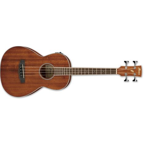 Ibanez PNB Parlor Bass 4Str Acoustic/Electric Guitar - Open Pore Natural