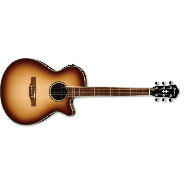 Ibanez Ibanez AEG AE 6Str Acoustic/Electric Guitar - Natural Browned Burst High Gloss