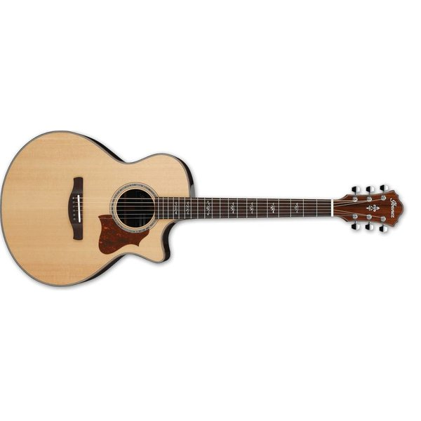 Ibanez Ibanez AE 6Str Acoustic/Electric Guitar w/Hardshell case - Natural High Gloss
