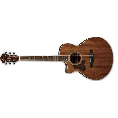 Ibanez AE 6Str Acoustic/Electric Guitar - Left Handed - Natural High Gloss
