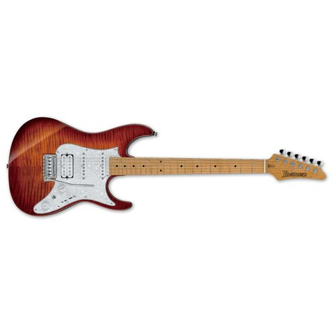 Ibanez AZ Premium 6str Electric Guitar w/Case - Brown Topaz Burst