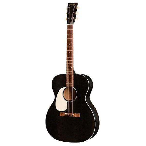 Martin Martin 000-17E Black Smoke Lefty w/ Hard Case