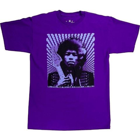 Fender Jimi Hendrix ''Kiss the Sky'' T-Shirt, Purple, XXL