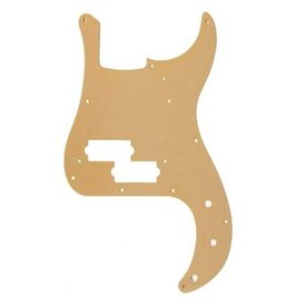 Fender Pure Vintage Pickguard, '58 Precision Bass, 10-Hole Mount, Gold Anodized, 1-Ply
