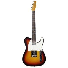 Fender Custom Shop 1963 Journeyman Relic Telecaster Custom, Rosewood Fingerboard, Chocolate 3-Color Sunburst