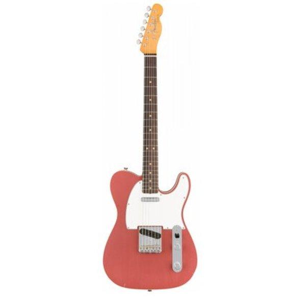 Fender Custom Shop 1963 Journeyman Relic Telecaster Custom, Rosewood Fingerboard, Aged Burgundy Mist Metallic