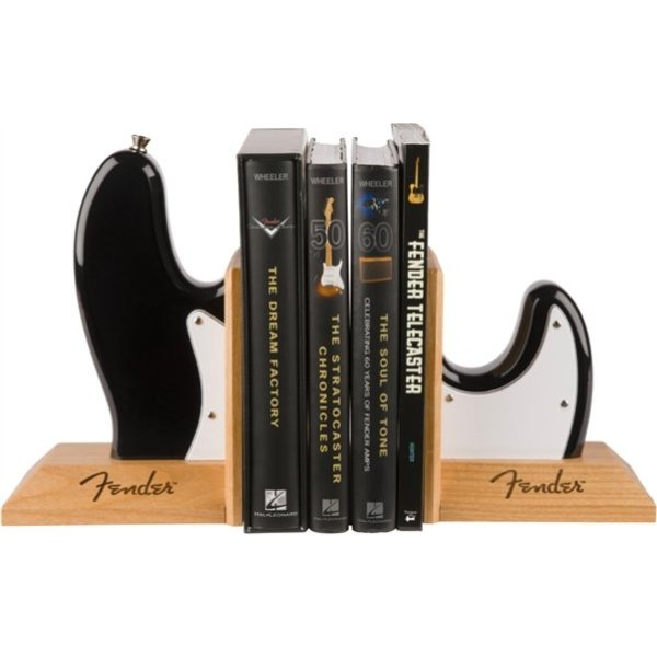 Fender Fender Bass Body Bookends, Black