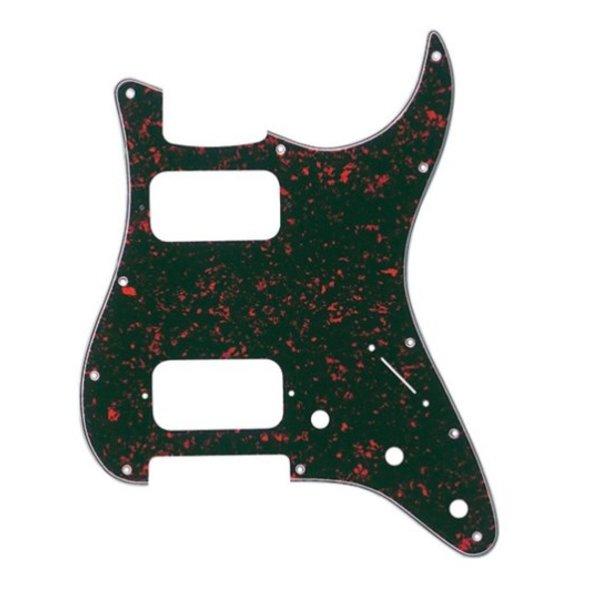 Fender Pickguard, H/H Stratocaster, 11-Hole Mount, Tortoise Shell, 4-Ply