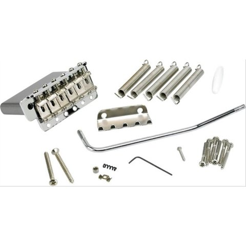 6-Saddle American Vintage Series Stratocaster Tremolo Assembly (Chrome)