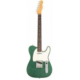 Fender Custom Shop 1963 Journeyman Relic Telecaster Custom, Rosewood Fingerboard, Faded Sherwood Green Metallic