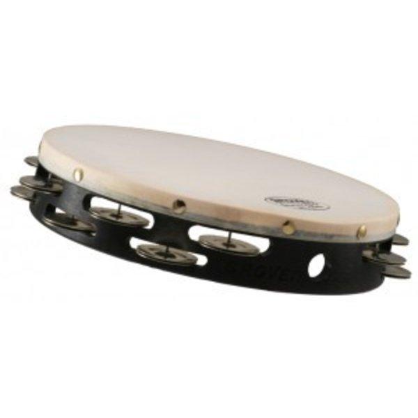 Grover Pro Percussion Grover Pro Percussion 10'' Double Row German Silver Tambourine