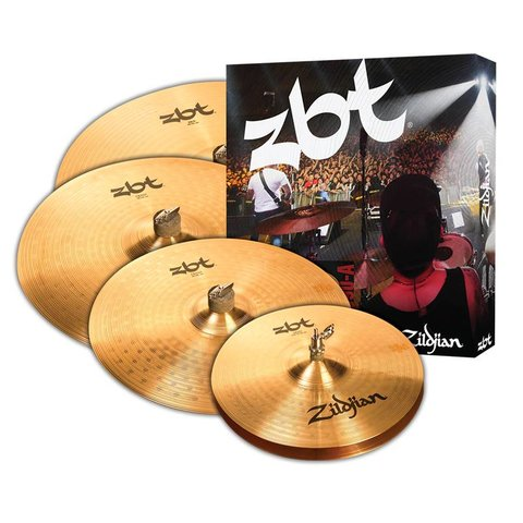 "Zildjian ZBT390-A 5 Cymbal pack with 18"" crash"