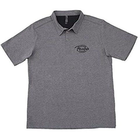 Fender Industrial Polo, Gray, S
