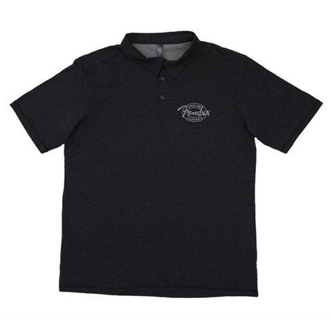 Fender Industrial Polo, Black, XL