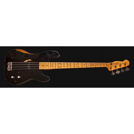 Fender Custom Shop Dusty Hill Signature Precision Bass, Maple Fingerboard, Black