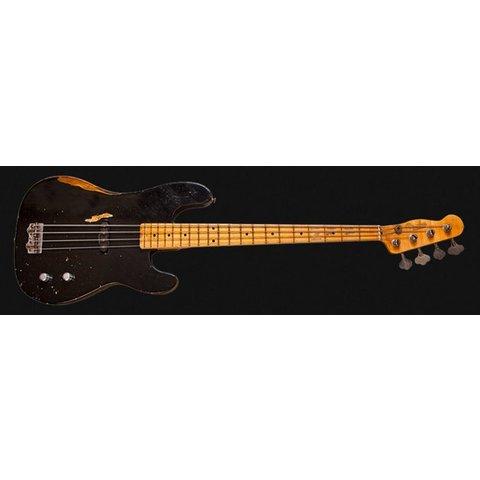 Dusty Hill Signature Precision Bass, Maple Fingerboard, Black