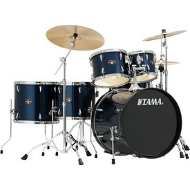 TAMA TAMA Imperialstar 6pc Complete Kit w/ MEINL HCS Cymbals Midnight Blue