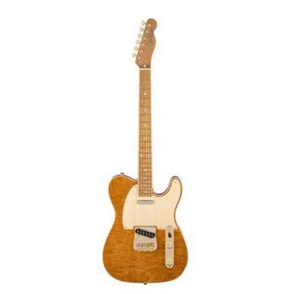 Fender Custom Shop Figured Mahogany Artisan Telecaster, Roasted Maple Fingerboard, Natural