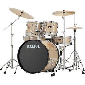 TAMA TAMA Imperialstar 5pc Complete Kit w/ MEINL HCS Cymbals Champagne Mist