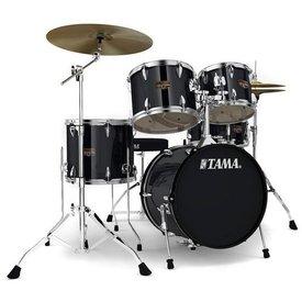 TAMA TAMA Imperialstar 5pc Complete Kit w/ MEINL HCS Cymbals Hairline Black