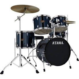 TAMA TAMA Imperialstar 5pc Complete Kit w/ MEINL HCS Cymbals Midnight Blue