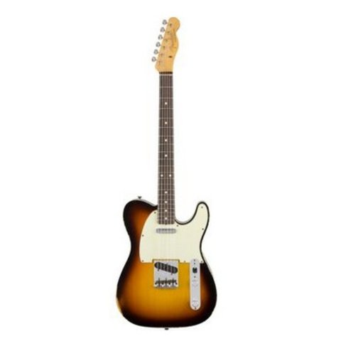 1962 Relic Telecaster Custom, Rosewood Fingerboard, Faded 3-Color Sunburst