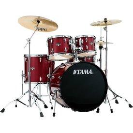 TAMA TAMA Imperialstar 5pc Complete Kit w/ MEINL HCS Cymbals Candy Apple Mist