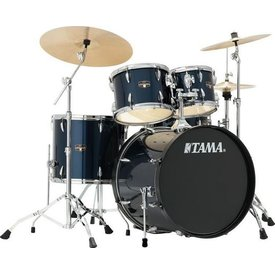 TAMA TAMA Imperialstar 5pc Complete Kit w/ MEINL HCS Cymbals Midnight Blue