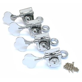 Fender Tuners, Squier P Bass Special, Chrome (4)
