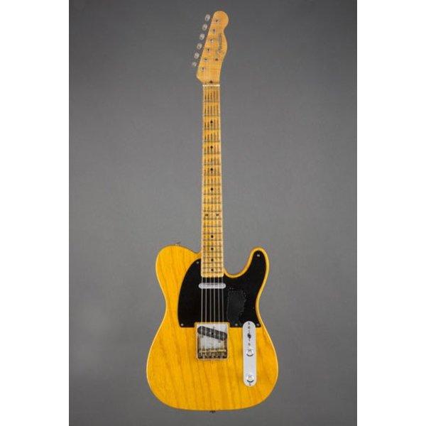 Fender Custom Shop Limited Edition Mike Campbell Heartbreaker, Maple Fingerboard, Nocaster Blonde