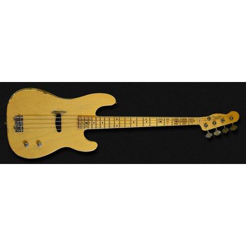 Dusty Hill Signature Precision Bass, Maple Fingerboard, Nocaster Blonde