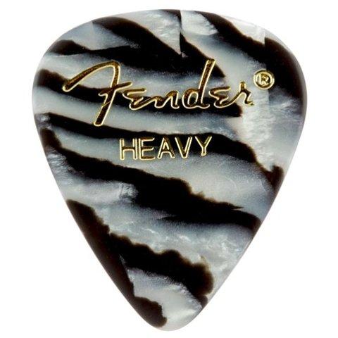 Fender 351 Heavy Zebra Picks 12 pk