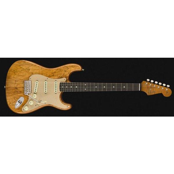 Fender Custom Shop Spalted Maple Artisan Stratocaster, Roasted Maple Fingerboard, Natural