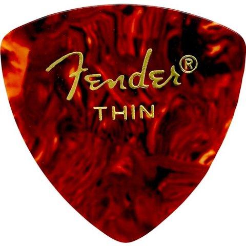 Fender 346 Thin Tortoise Shell Picks 12 pk
